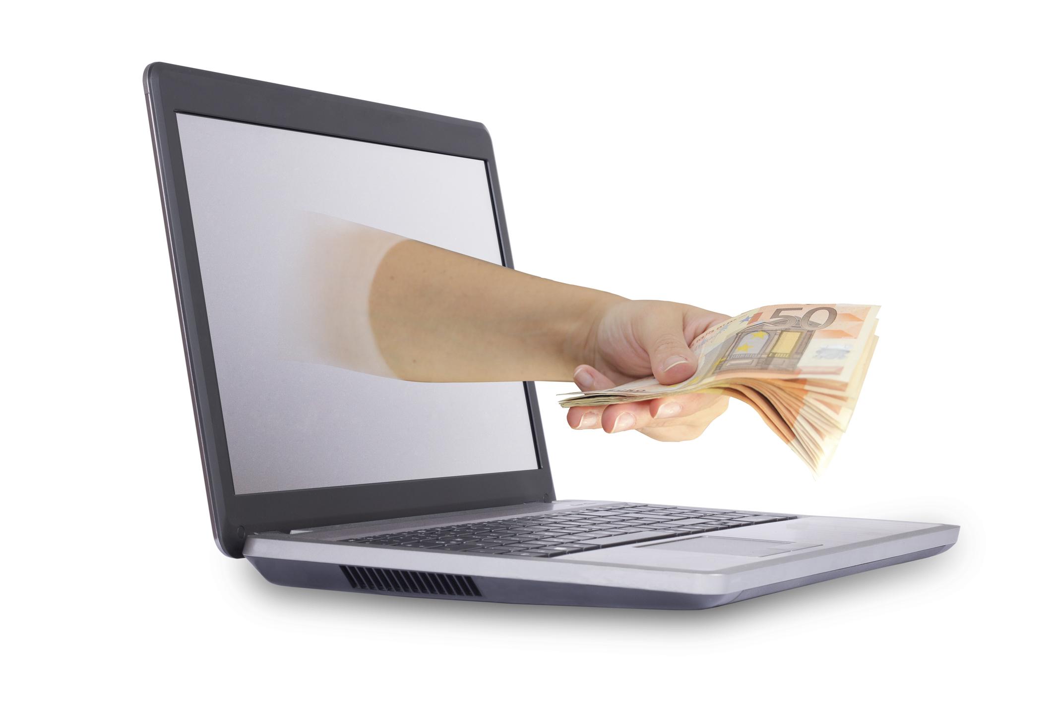 Mini préstamos - Dinero rápido en un clic