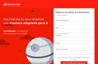 Logo de Hipoteca Santander