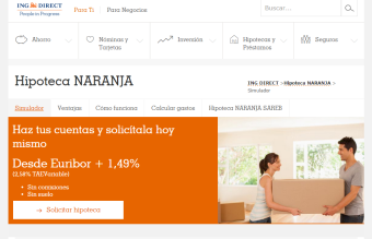 Hipoteca Naranja de ING Direct