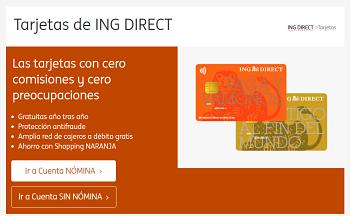 Visa Oro ING Direct