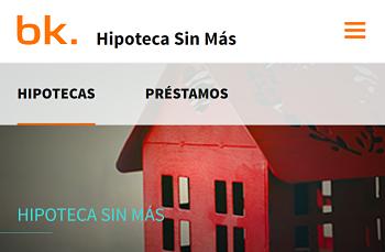 Hipoteca Sin Más de Bankinter