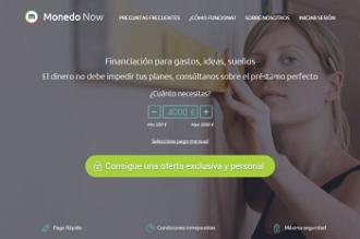 Logo de Crédito rápido Monedo Now