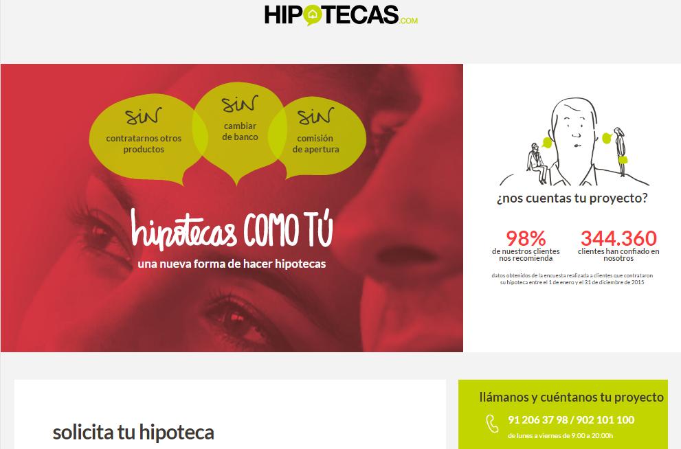 Hipoteca Tipo Fijo de hipotecas.com
