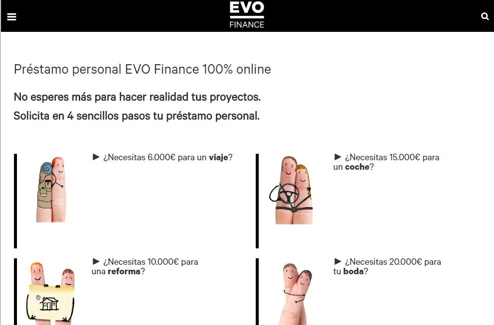 Préstamo Personal de EVO Finance