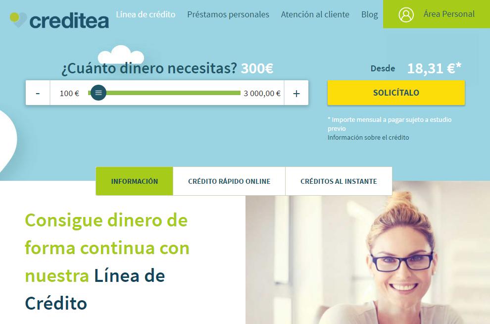 Línea de Crédito Creditea
