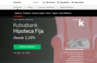 Hipoteca Fija Kutxabank