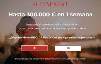 Préstamo Hipotecario Suitaprest