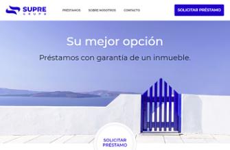 Logo de Préstamo con garantía hipotecaria Supre Grupo